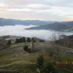 Vue sur la vallée de Munster vers 9h du matin