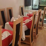 Separated area for small parties. Zafran can cater for 42 customers