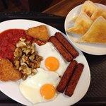 Vegetarian breakfast & Rumblin Tum cafe Otley