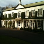 Entrance to Statham Lodge