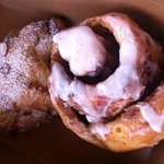 Gluten Free Cinnamon Roll and Almond Croissant