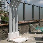 Terrazzo con solarium