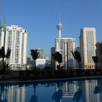 Surrounding view from swimming pool