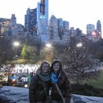 View of the city from Central Park was amazing!