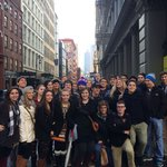 Deca group from this Decembers custom educational shopping student tour.