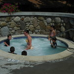 Our Jacuzzi is open till 11 PM at night