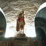 Statua lignea San Cristoforo