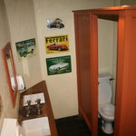 Inside the gents'.