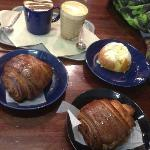 Beautiful buns and coffee