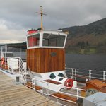 View of the Western Belle from Glenridding Pier