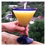 The tastiest mango margarita in town!