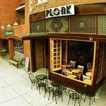 Cafe by Hostel Entrance