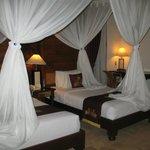 Спальное место с закрывающимся балдахином