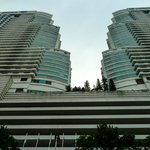 The iconic twins, the Hilton and the Le Meridien KL