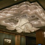 Chandelier at Ballroom