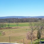 From the seminary cupola this is the view of the battlefield to the west.