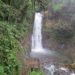 One of the falls along La Paz Waterfall hike