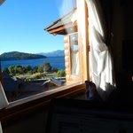 Vista del Nahuel Huapi desde la habitación