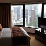 Very nice suite with amazing view over KL