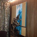 Uno dei quadri con Batman