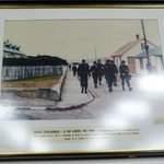 Naval Museum - Argentinan troops land on the Falklands Malvinas