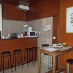 kitchen / common area