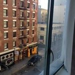 Looking up Post St. from my room's window (away from Union Square)
