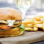 Royal Hotel Bistro vegetarian burger