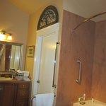 cottage room bathroom area