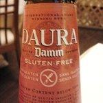 Gluten free beer: Estrella Damn Daura