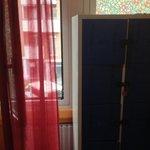 janela e lockers