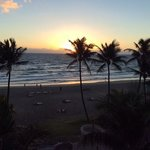 sunrise from our room #407