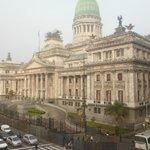 Vista do Quarto Quadruplo - Congresso Argentino