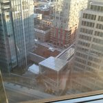 view of downtown Toronto from room