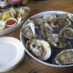 Swampy's order of a dozen oysters