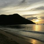 Sunset at Resort Beach Bar
