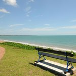 Across the road from Hervey Bay's best beach