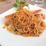 Spaghetto con il granchio