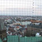 vista desde lo alto de la torre