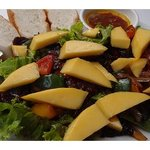 famous mango beef salad