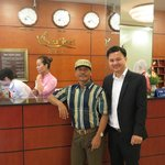 Mr.Abe Abdullah with Senhotel