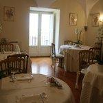 Café da manhã em um palácio