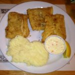 Haddock with mashed potatoes