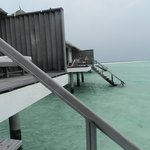 shallow waters below the villa =)