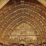 Полихромный портал церкви