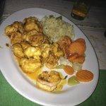 Cucaracha shrimp  Mmmmm…...