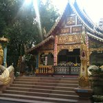 A temple in Chiangmai. Peaceful and serene.