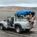 Our volcano expedition on the 4WD