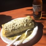 Spicy Wet Burrito & Corona