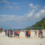 Beach Volleball Game